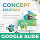 Concept Solutions Business Google Slide Template - GraphicRiver Item for Sale