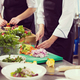 team cooks and chefs preparing meals - PhotoDune Item for Sale