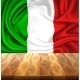 Vector Mexico Italy Flag Realistic Silk Drape - GraphicRiver Item for Sale