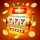 Vector Realistic Slot Machine Casino Jackpot - GraphicRiver Item for Sale