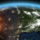 4K Earth Night to Day Sunrise North America - VideoHive Item for Sale