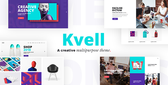 Image of Kvell - A Creative Multipurpose Theme for Freelancers and Agencies
