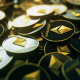 4K Ethereum Pile Spilled Out Orbit - VideoHive Item for Sale