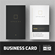 Minimalist Business Card Vol. 03 - GraphicRiver Item for Sale