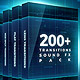 200+ Pack: Cinematic Action Transitions, Sound FX - VideoHive Item for Sale