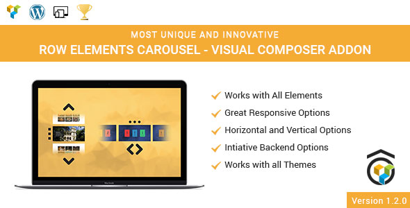 Row Elements Carousel Addon for WPBakery Page Builder (formerly Visual Composer) - CodeCanyon Item for Sale