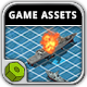 Battleship War - Game Assets - GraphicRiver Item for Sale