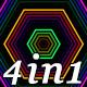 Colorful Neon - VJ Loop Pack (4in1) - VideoHive Item for Sale