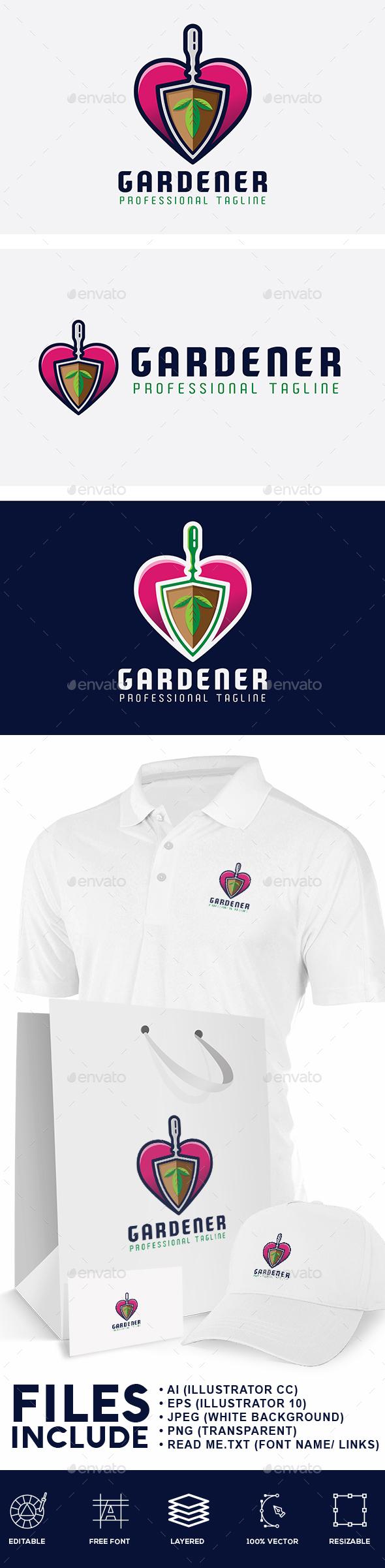 Gardener Logo - Nature Logo Templates