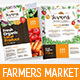 Farmers Market Poster Templates - GraphicRiver Item for Sale