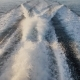 Background of Water Trail Foaming Behind a Ferry Boat - VideoHive Item for Sale