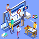 Isometric People Images SEO - GraphicRiver Item for Sale