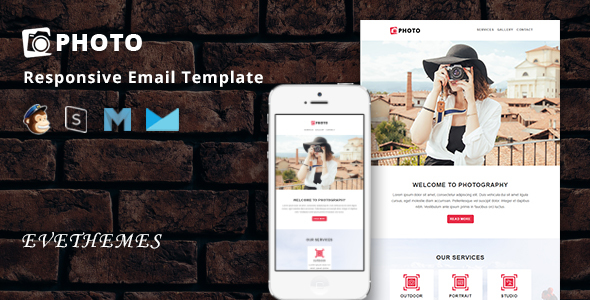 Photo – Responsive Email Template