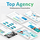 Top Agency Business Powerpoint Template