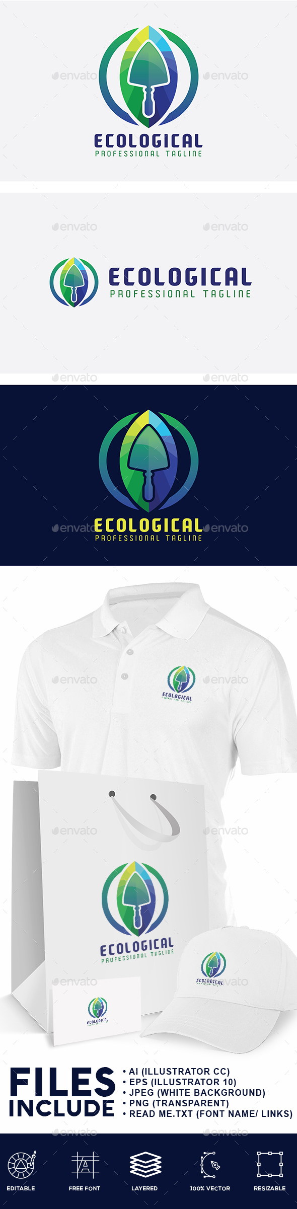 Ecological Logo - Nature Logo Templates
