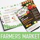 Farmers Market Tri-Fold Brochure Template - GraphicRiver Item for Sale