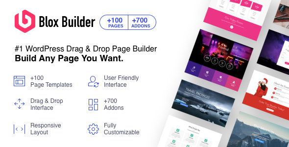 Blox Page Builder for WordPress - CodeCanyon Item for Sale