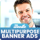 Multipurpose, Business, Startup Banners Ads