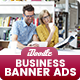 Multipurpose, Business, Startup Banners Ads - GraphicRiver Item for Sale