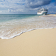 A cruise ship docks in the port of Grand Turk - PhotoDune Item for Sale