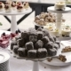 A Buffet Table with Desserts. Cake, Tartlets, Eclairs - VideoHive Item for Sale