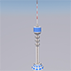 Baghdad Communications Tower - 3DOcean Item for Sale