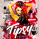Tipsy Fridays Party Flyer - GraphicRiver Item for Sale