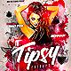 Tipsy Fridays Party Flyer