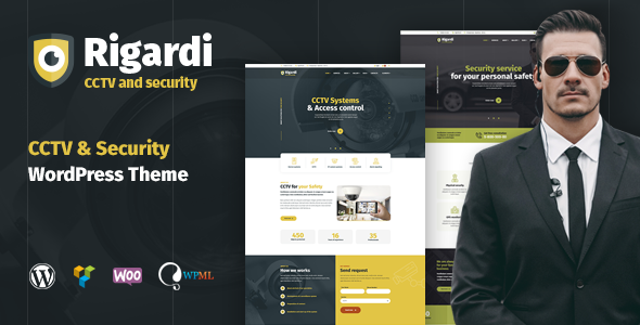 Rigardi - Security Company, Body Guard, CCTV and Locksmith WordPress Theme