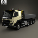 Volvo FMX Tridem Tipper Truck 2013 - 3DOcean Item for Sale