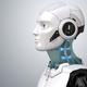 Robot's head in profile - PhotoDune Item for Sale
