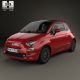 Fiat 500 2015 - 3DOcean Item for Sale