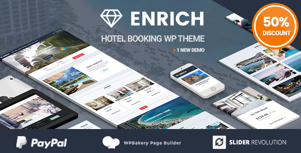 Image of Enrich – Hotel Booking WordPress Theme