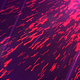 Abstract Flying Particles with Light Rays - VideoHive Item for Sale
