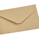 Beige envelope on a white background - PhotoDune Item for Sale