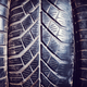 Close up picture of used car tires. - PhotoDune Item for Sale