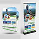 Travel Flyer with Roll-Up Bundle - GraphicRiver Item for Sale