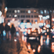 Blurred city at night. Bokeh - PhotoDune Item for Sale
