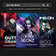 Electro Music Flyer Bundle Vol 50 - GraphicRiver Item for Sale