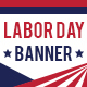 Labor Day Banner Template - GraphicRiver Item for Sale