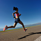Fitness female runner running  - PhotoDune Item for Sale