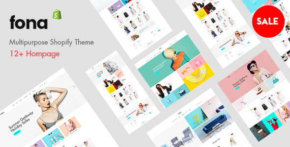 Fona - Premium Multipurpose Shopify Theme - Fashion Shopify