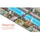 Vector Isometric Smart City Concept - GraphicRiver Item for Sale