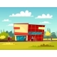Supermarket Building - GraphicRiver Item for Sale