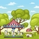 Carousel With Horses - GraphicRiver Item for Sale
