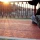 Walk Feet Sport Sunset - VideoHive Item for Sale