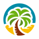 Palm Travel - GraphicRiver Item for Sale