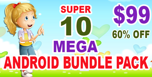 New Best 10 Android Games + Ready For Publish + Admob - CodeCanyon Item for Sale