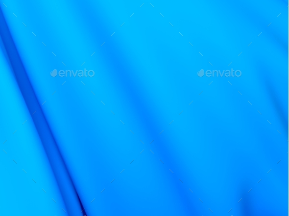 Abstract Texture, Blue Silk - 3D Backgrounds