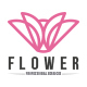 Pink Flower Logo Template - GraphicRiver Item for Sale